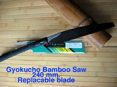 Gyokucho bamboo saw