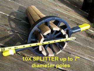 10X splitter