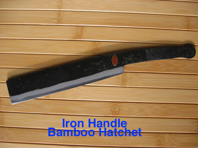 iron hatchet